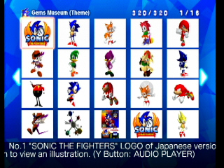 Everything except Sonic CD loses its luster rather quickly. Museum